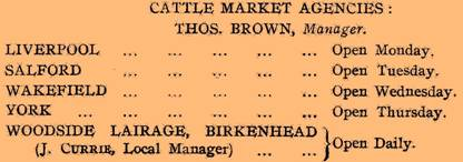 1922 L & Y Cattle Market Agencies CP.jpg