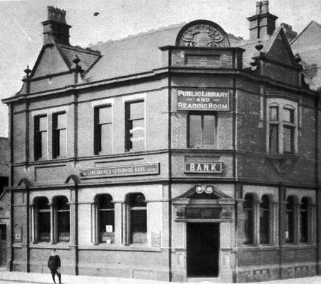 1922 Branch Exterior as L & Y Bank WN Townson