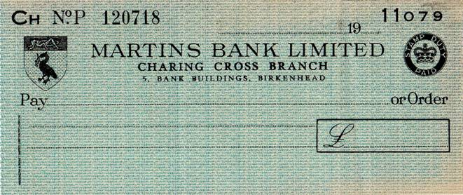 1950 s Charing Cross Cheque - Stephen Walker MBA.jpg