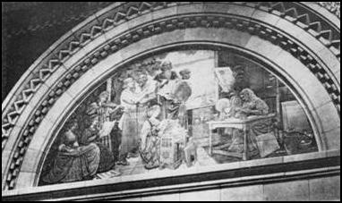 1910 Interior Feature From Palatine Bank Jpg